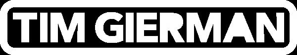 Logo Tim Gierman (White)