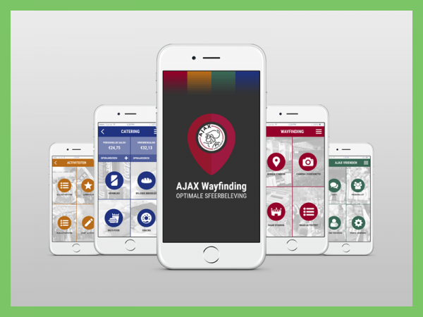AJAX Wayfinding App