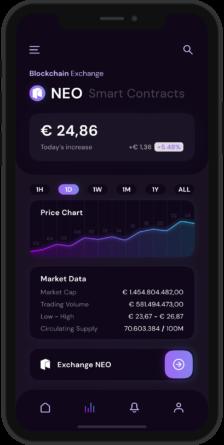 NEO Crypto Wallet App - Mockup - 2