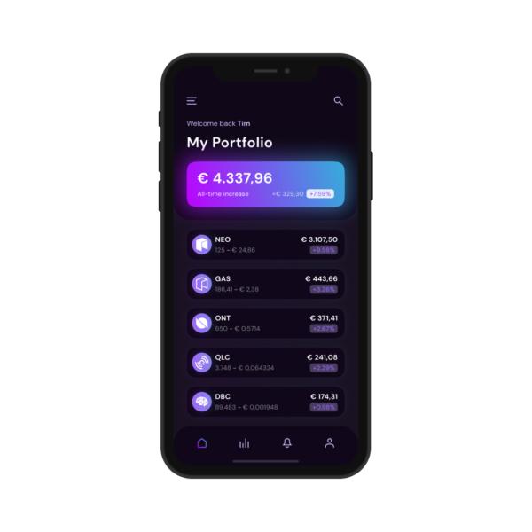 NEO Crypto Wallet App Thumbnail
